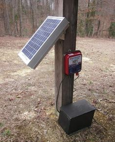 Solar-powered electric fencing by Jeffrey Yago, P.E., CEM