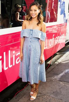 The Brand Every Celebrity Wears in the Summer via @WhoWhatWear