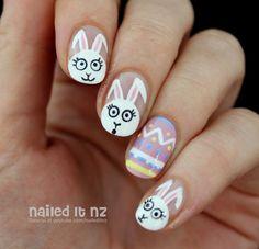 Imagen de nail art, easter, and nails