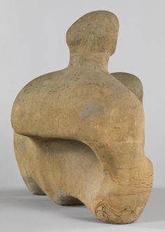 Henry Moore (British:1898 – 1986) -  'Recumbent Figure', 1938 © The Henry Moore Foundation. All Rights Reserved