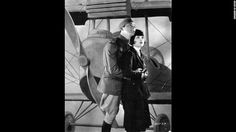 """'Wings' (1927): The first Academy Awards were given out at a dinner on May 16, 1929. The best picture winner was 1927's """"Wings,"""" a film about World War I pilots starring Clara Bow, right, Charles """"Buddy"""" Rogers, left, Richard Arlen and Gary Cooper. Even today, the silent film's aerial sequences stand out as some of the most exciting ever filmed. The academy didn't begin using a calendar year for awards until movies made in 1934 (with ceremonies held in 1935)."""