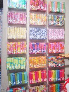 Design Print Napkins!