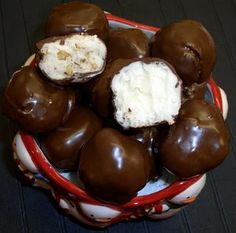 Martha Washington candies--my mom use to make these at Christmas..they were so good~