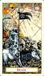 13- Death, Tarot of Prague