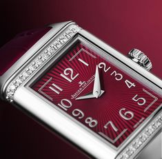 For La Grande Maison introduces new aesthetic interpretations of its most admired models for women, the Reverso One. The post Reverso in Feminine Style: Jaeger-Lecoultre Introduces New Reverso One appeared first on WATCHESPEDIA. Jaeger Lecoultre Reverso, Jaeger Lecoultre Watches, Hand Sketch, Watch Companies, Feminine Style, Watches For Men, Women's Watches, Timeless Design, Red Wine