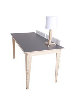 Ingvar: Desk with Divider // Pedersen + Lennard