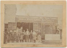 11 Carpenters Occupational Cabinet Card Baxter City Arkansas
