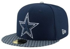 c03066cfdf8b9 NFL Dallas Cowboys New Era 59Fifty Sideline Fitted Hat