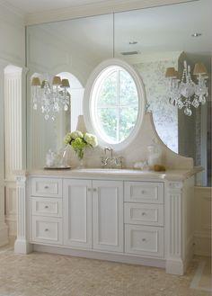 Gorgeous ▇  #Home #Bath #Decor  via - Christina Khandan  on IrvineHomeBlog - Irvine, California ༺ ℭƘ ༻