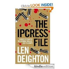 Get this from a library! The Ipcress file. [Len Deighton] -- For the working-class narrator, an apparently straightforward mission to find a missing biochemist becomes a journey to the heart of a dark and deadly conspiracy. The Ipcress File, Richmond Upon Thames, Lewis And Clark, Filing, Great Books, Thriller, Novels, Lens, Reading