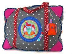Krempeltasche, pattern by farbenmix.de #nähen #sewing #diy #handmade #farbenmix #taschenspieler