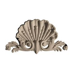 With such a diverse selection of Centers and Centers with Scrolls, we hope you find the perfect appliques to enhance your interior decor. The collection includes shells, garlands, urns, foliage appliques and more.