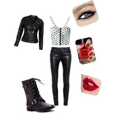 A fashion look from December 2014 featuring VIPARO jackets, Yves Saint Laurent pants and Sole Society boots. Browse and shop related looks.