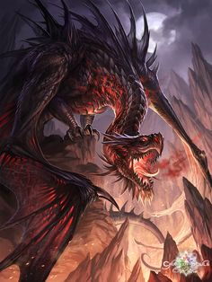 dark dragon by sandara.deviantart.com on @deviantART