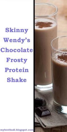 Skinny Chocolate Frosty Protein Shake