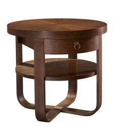 """27""""h x 30""""w x 30""""d Beatrice Side Table from the Hable for Hickory Chair™ collection by Hickory Chair Furniture Co."""
