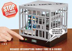 家庭内で使えるスマホ用の牢屋・・・『CELL LOCK-UP』   100SHIKI