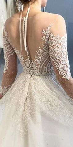 backless wedding dresses tattoo effect illusion lace enaura bridal dresses backless tattoo 30 Sophicticated Backless Wedding Dresses Western Wedding Dresses, Wedding Dress Trends, Princess Wedding Dresses, Wedding Dress Styles, Dress Wedding, Bridal Skirts, Backless Wedding, Grecian Wedding, Bride Gowns
