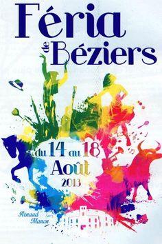 BÉZIERS : les 15 premières affiches du concours 2013