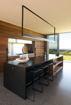 Shoreham House, Interior Architecture by SJB Architects Küchen Design, House Design, Cocinas Kitchen, Interior Minimalista, Cuisines Design, Minimalist Kitchen, Home Living, Beautiful Kitchens, Beautiful Homes