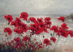 Art Friend, Poppies, Artsy, Pictures, Photos, How To Make, Painting, Color, Friends