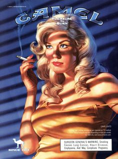 Old Advertisements, Retro Advertising, Retro Ads, Pulp Fiction, Fotos Pin Up, Vintage Cigarette Ads, Pub Vintage, Vintage Style, Serpieri