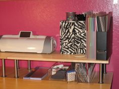 office space craft space images   Cricut storage   Craft/Office Space Inspiration