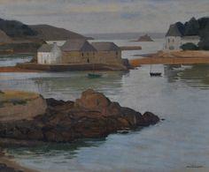 "Henri Sollier 1886-1966 "" Tréboul. L'Ile Tristan "" 1943 ? The Gr, Anglesey, Sculpture, Brittany, Landscapes, Illustrations, Inspired, Portrait, The Originals"