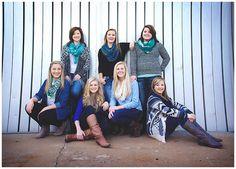 Senior Girls. Senior Group Portrait. Wichita Kansas Senior Photographer. Senior Photography. Senior Portraits.