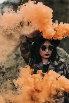 yellow-smoke-bombs-birmingham-wedding-photographer-sutton-colfield