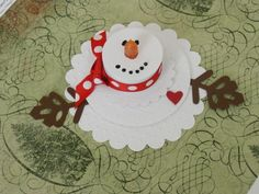 Snowman Tealight by kristyk71 - Cards and Paper Crafts at Splitcoaststampers