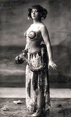 Mata Hari-Exotic dancer and borderline prostitute, her name nearly synonymous with the role of a double-agent, she one of the most   famous of female spies, yet Mata Hari was more   than likely falsely charged.  Executed by firing squad in 1917,  she bravely refused blindfold or bindings and unflichingly faced down the firing squad who took her life.