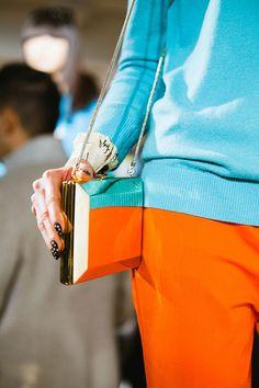 Polkadot Nails•Fashion Inspiration
