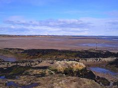 25 Fun and Unusual Things to do in Scotland - One of the beaches of St. Andrews. Maybe day 5?
