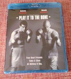 Play It to the Bone (Blu-ray Disc, 2011) NEW - Woody Harrelson Antonio Banderas