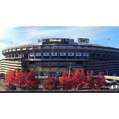 Three Rivers Stadium, went to many games there.