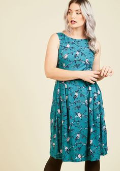 Emily and Fin Sense of Self-Confidence A-Line Dress