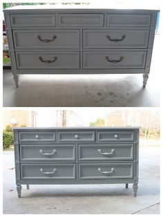 Painted dresser-loving this color!