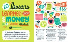 Andrea Pippins illustration for Good Company Magazine