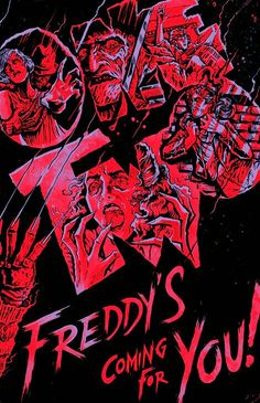 Robert Englund IS Freddy Krueger! Having portrayed the Springwood Splasher in every entry in the Nightmare on . Robert Englund, Horror Icons, Horror Films, Freddy Krueger, Freddy's Nightmares, Slasher Movies, 80s Movies, Horror Artwork, Fright Night