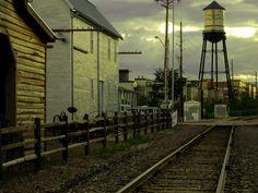 Railroad at the Flour Mill Water Tower Photo taken by Korri Miller, Arvada Center  #cityofarvada