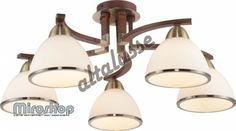 Altalusse INL-9287C-05 Antique brass & Walnut (8599879904219)