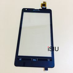 iSIU For Nokia Microsoft Lumia 532 435 Touch Screen Mobile Phone Touch Panel Front Glass Digitizer Sensor Black NO LCD DISPLAY #Affiliate