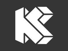 Dribbble_k-monogram-escher