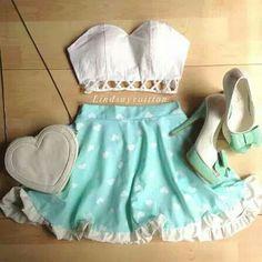 Look romântico  #Lindo