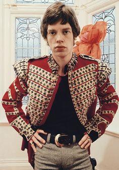 Mick Jagger Military Jacket Jimi Hendrix