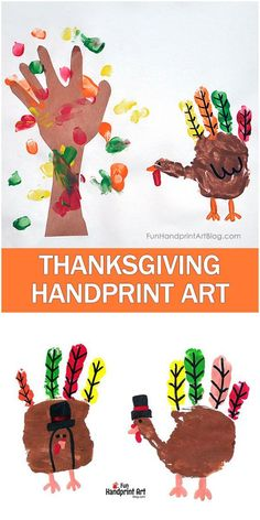 Thanksgiving Turkey Art Scene with a Fall Fingerprint - Pilgrim Handprint Turkeys Do you have a Thanksgiving tradition with your kids? How about making a Thanksgiving Turkey Art Keepsake? Add this Fall Tree Handprint Art idea too! Thanksgiving Crafts For Toddlers, Thanksgiving Art, Thanksgiving Crafts For Kids, Thanksgiving Activities, Thanksgiving Traditions, Thanksgiving Desserts, Christmas Desserts, Hand Turkey Craft, Turkey Art