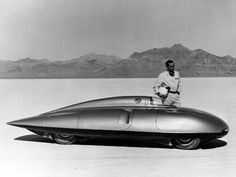 """""""Fastest car, ever in 1957 at 245 mph, an MG EX181"""""""