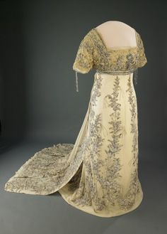Helen Herron Taft'S inaugural gown. US, ca. 1910.