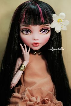 OOAK Monster high 17'' by Aquatalis | Flickr - Photo Sharing!